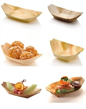 Factory direct sale wholesale sushi pine food wooden boat