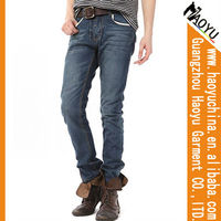 Top quality fahsion men jeans factory china (HYM45)