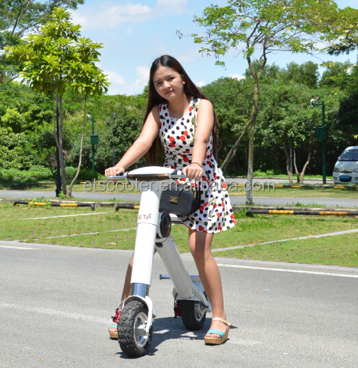 High quality mini folding electric balance scooter with appearance certification and smart style