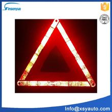 E-MARK Road repair emergency triangle kit with flashing lights