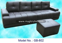 Living Room Furniture, Sofa Set, Leather Sofa, Sofa