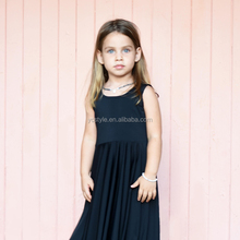 Little <strong>girl's</strong> fashionable evening <strong>dress</strong>, skirt length to toe, multi-color options