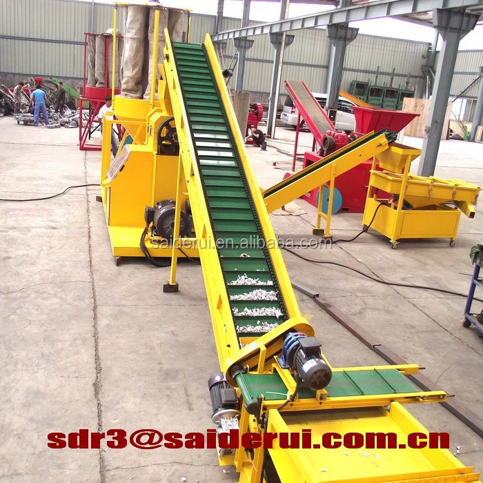 Copper & PVC separator scrap copper cable wire recycling equipment