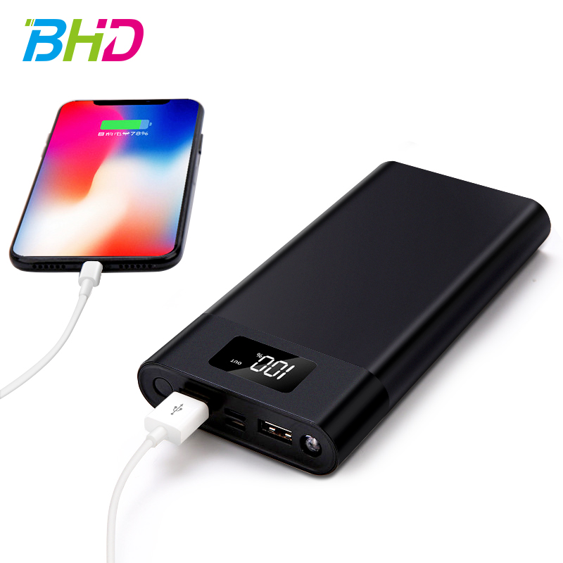 BHD Phone mobile charger power bank 10000mah mobile power supply battery powerbank for iphone xr xs max <strong>11</strong>