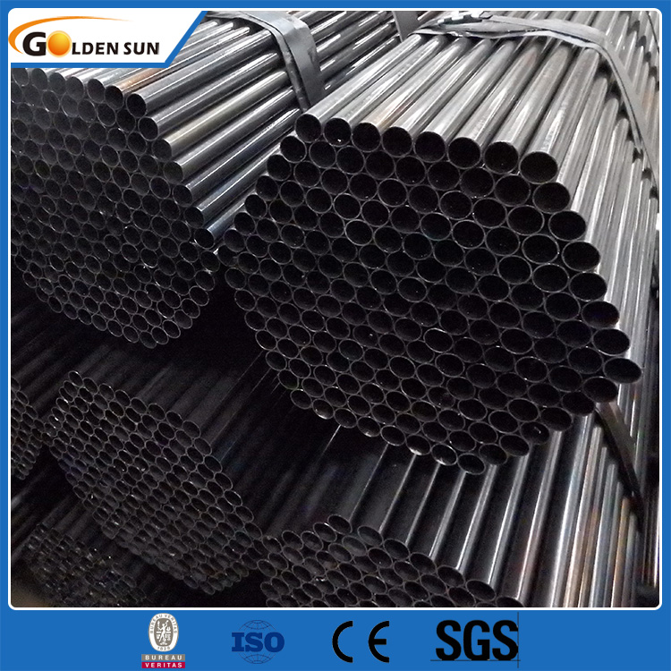 Tianjin Manufacturer of black round iron pipe for furniture