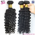 Wholesal Grade 7A virgin hair unprocessed human hair deep curly hair weave