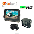 LCD Car Parking Assistance Monitor Radar Sensor + Rear View Waterproof Camera