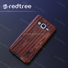 fancy phone case cover 2 in 1 phone case wooden imitated phone cover