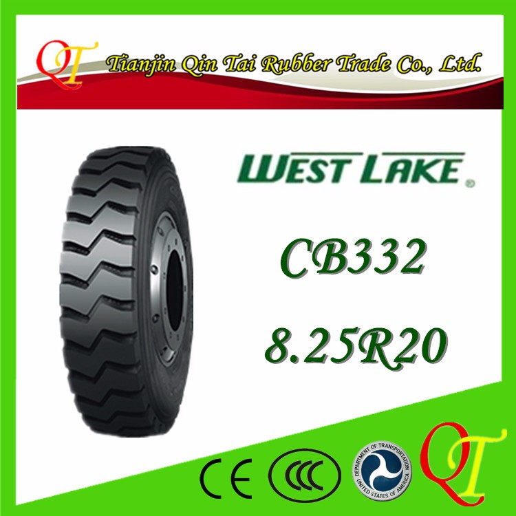 Light load card passenger car steel wire tire 8.25 20 truck tire