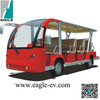 Electric zoo shuttle, 14 seats, electric shuttle bus