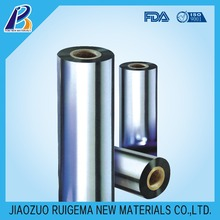 vacuum metallized PET/BOPP/CPP film