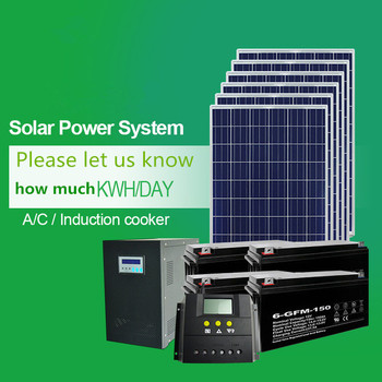 Factory price 1000watt off grid solar home power system