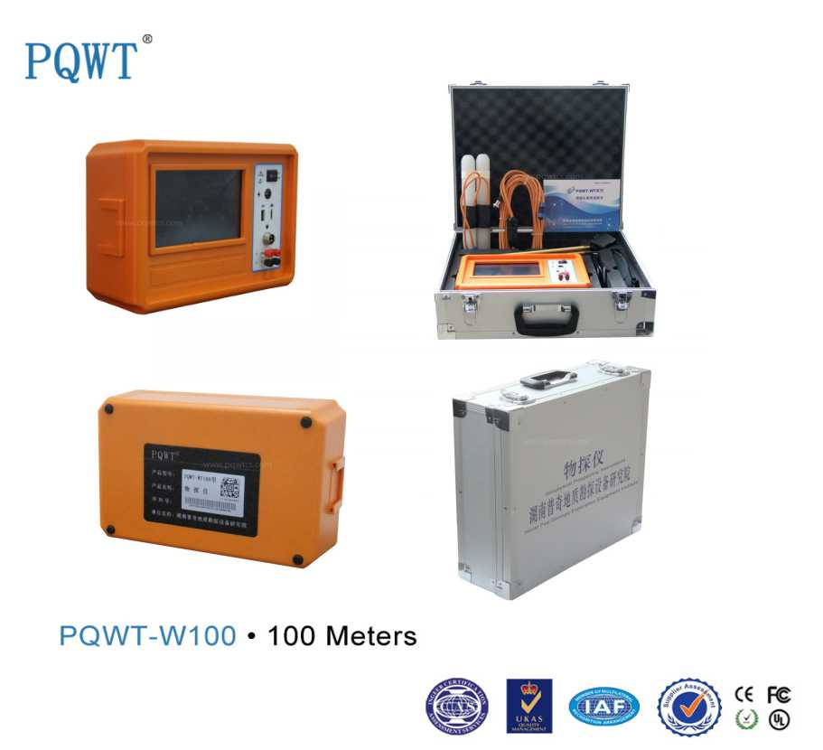 PQWT-W100 Electrical Underground Water Detection 100M