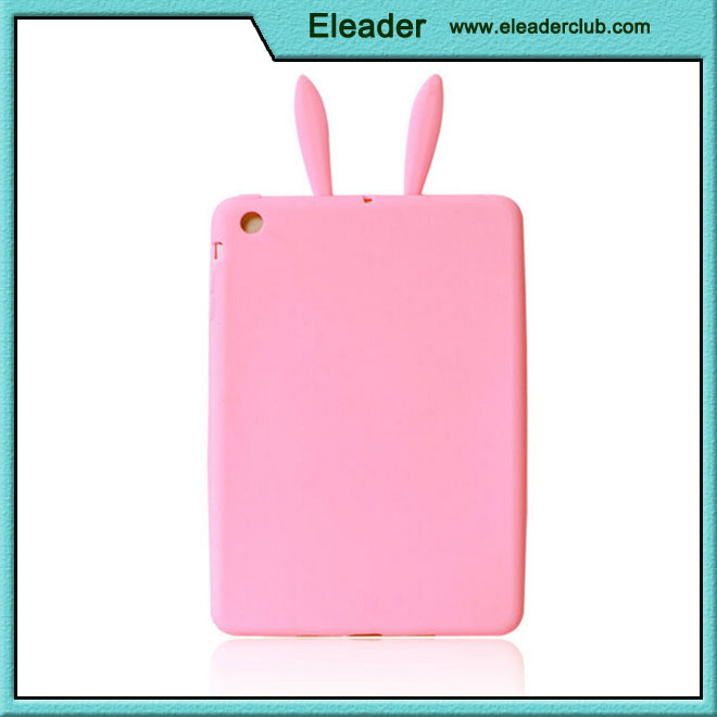 OEM soft rabbit case for ipad mini