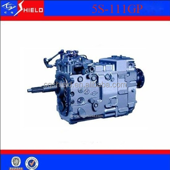 5S-111GP transmission gearbox / ZF 5S- 111GP manual transmission gearbox assembly.