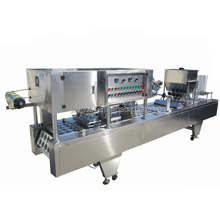 Low cost butter filling machine,automatic cup filling machine for milk.plastic cup yogurt cup filling sealing machine
