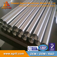 top quality ASTM B338 Gr2 Titanium seamless tube price for pipe heat exchanger