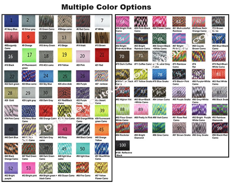 Updated color options