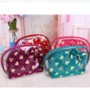 2016 hot sales custom eco beauty cosmetic bag sets