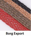 3mm Flat Leather Cord From BORG EXPORT / Flat Leather Cord 3 mm