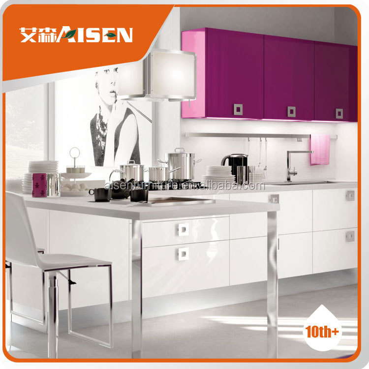 French Modern Style Kitchen Cabinet Designs Wholesale