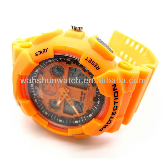 Mens multifunctional high tech digital watch
