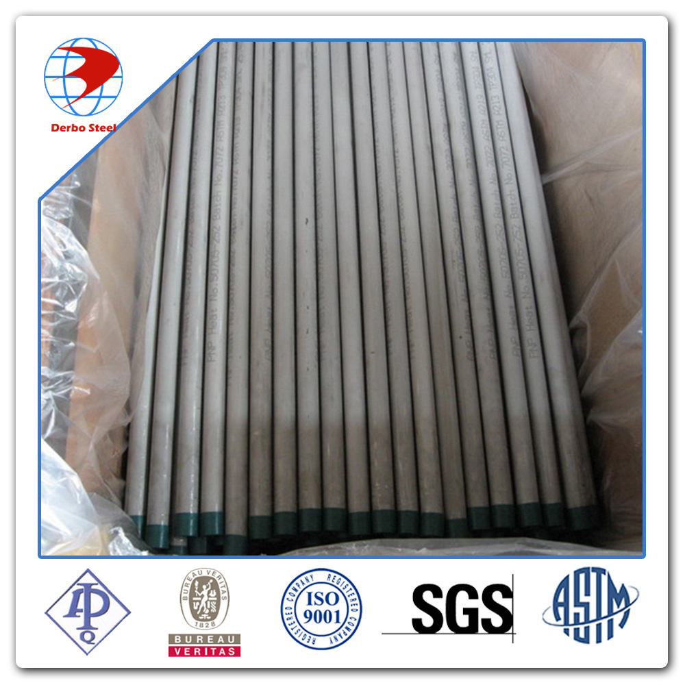 China New Alloy Steel Seamless Pipes ASTM A213 GrT5 Bare Condition With Smooth Surface.