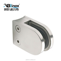 Stainless steel angle glass clamp for good prices of stainless steel balcony railing