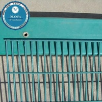 anti cut 358 high density wire mesh metal fence