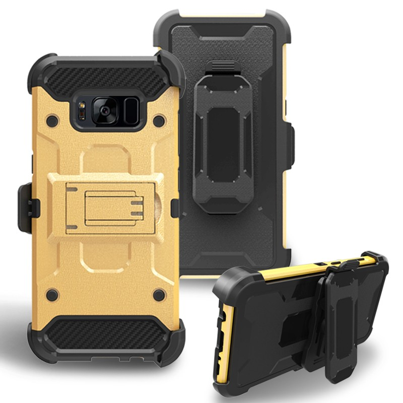Wholesale thick rugged cell phone case for Samsung S8 plus cover