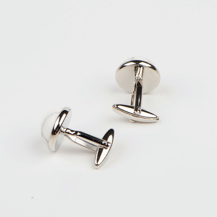 High Quality Classic Enamel Men's Cufflinks in Gold Plating