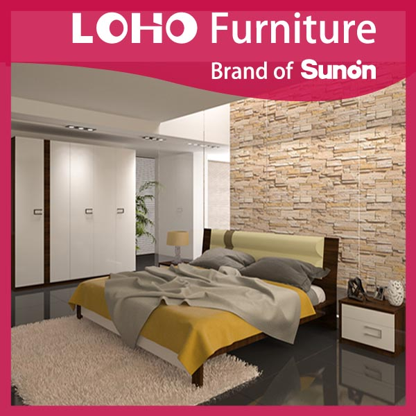 White Color Lovely Appearance Hotel Furniture from LOHO Furniture