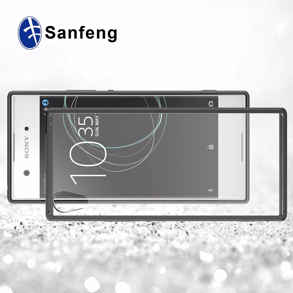 <strong>2</strong> in 1 TPU Acrylic China Cell phone Accessories for Sony Xperia XA1 XA 2017
