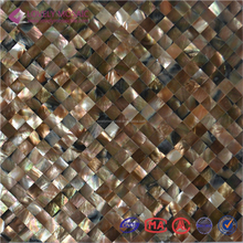 Square Sea Shell Mosaic Tiles Shell Mosaic Arts AST028