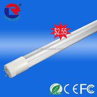 Replacement of traditional tube without starter and ballast led t8 tube fluorescent