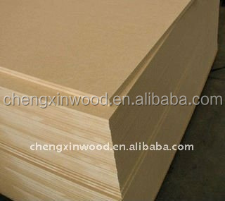 Melamine MDF / MDF Sheet Price / Laminated MDF Board