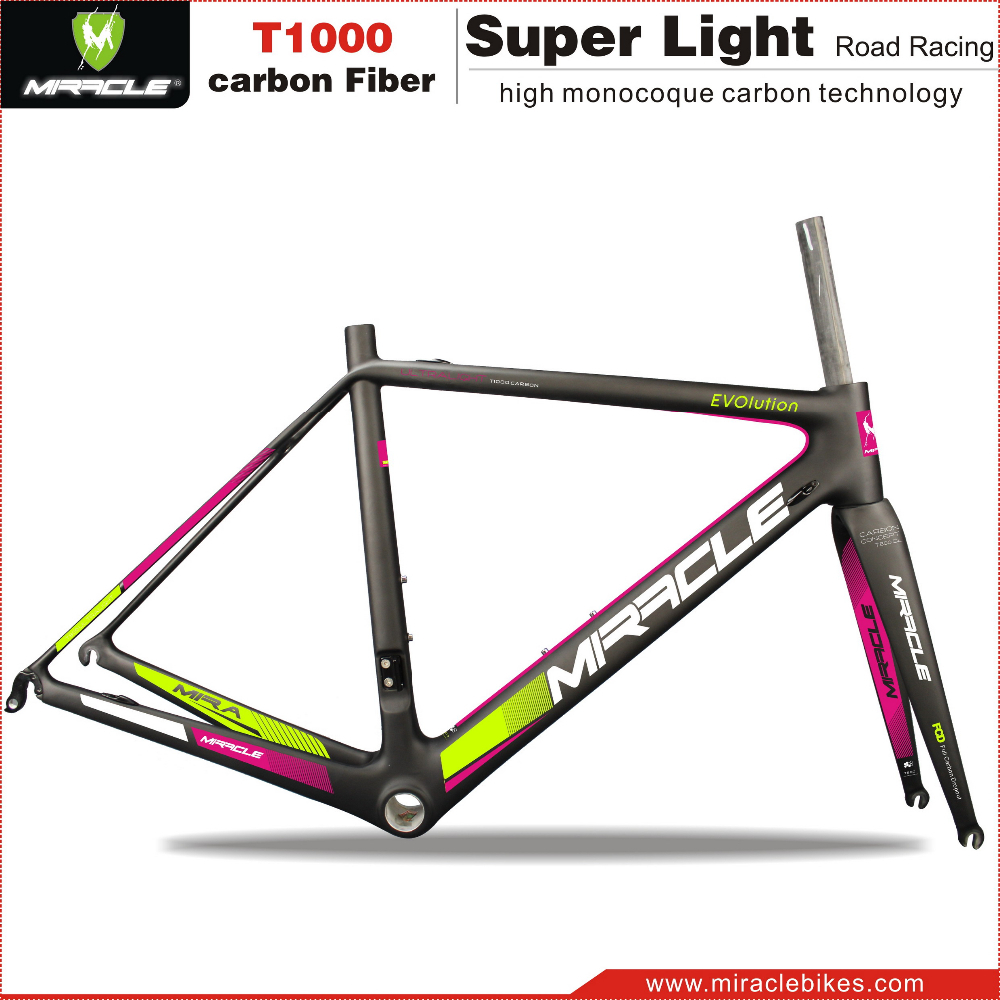 2016 New Arrival carbon road tt frames, best super light carbon fiber road bicycle frame