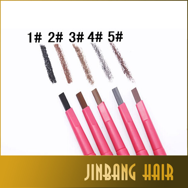 Best Selling Products Cosmetics automatic eyebrow pencil waterproof eye brow pencil with brush