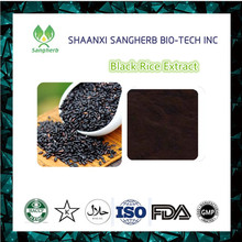 Best Price Black rice extract 10:1 P.E. cyanidin-3-O-glucoside chloride