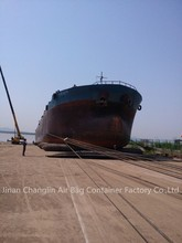 Ship launching /dry docking marine airbags export to Indonesia