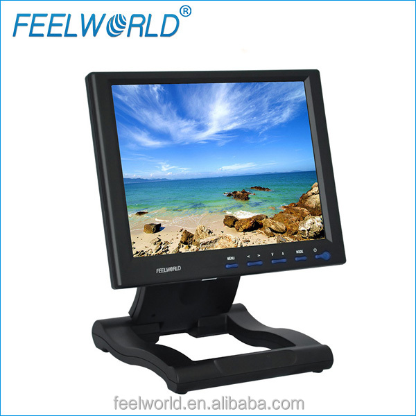 10.4 car roof mount lcd monitor with tv resistive touchscreen DVI VGA HDMI