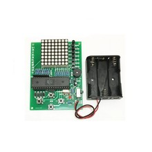 New DIY Kits 51 SCM Chip Handheld Game Retro Snaker Machine Diy Electronic Kit (Without battery)