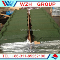 High quality Stone roof tile /Stone coated metal roof/Roofing tile