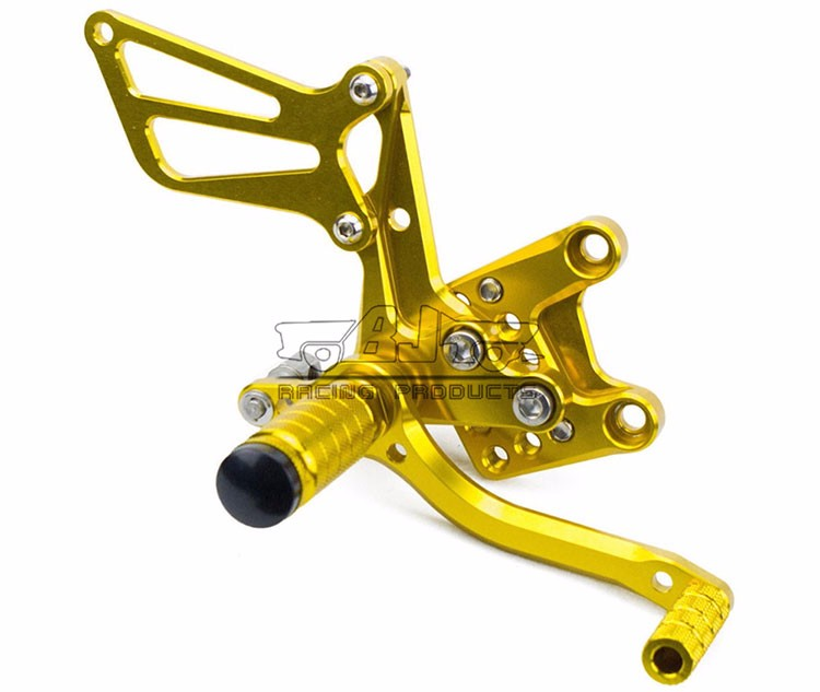 ARS-K1 Motorcycle GSXR1000 Adjustable Rear Set Motorcross SV650S rearset for Suzuki GSXR750 GSXR600 k1-k4