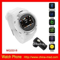 2012 touch screen Watch Mobile Phone with 1G/2G/4G card
