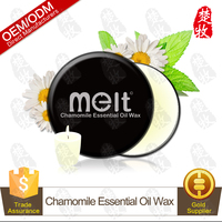High Quality Natural Chamomile Essential Oil Massage Candle Soy Wax for Aromatherapy&Massage&Decoration OEM/ODM