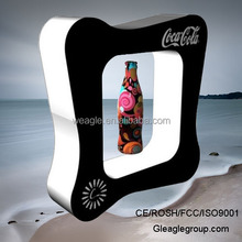 Customized Top magnetic levitation advertising display stand for sunglasses