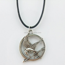 Euro Fashion Hunger Games Catching Fire Movie Birds Pendant Necklace Wholesale