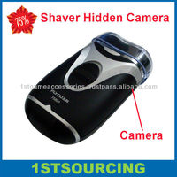 Motion detection shaver camera hidden camera