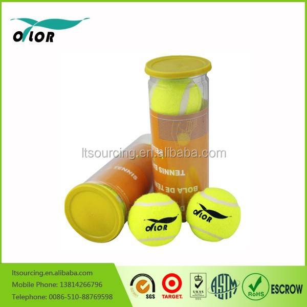 ITF approved cans package custom printed tennis ball